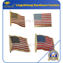 Wholesale Cheap American Flag Badge