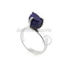 Fornecedor de atacado para jóias de prata Lapis Gemstone no melhor preço
