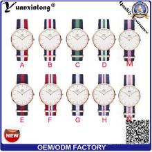 Yxl-600 2016 Новый человек моды часы Dw типа нейлона Nato ремешок наручные мужские часы