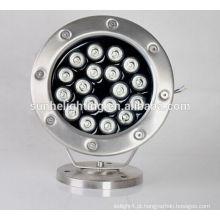 Iluminação subaquática da piscina do diodo emissor de luz do poder superior IP68 AC 12V AC / DC24V