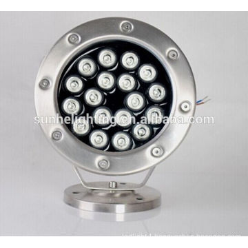IP68 High Power LED Underwater Pool Lights AC 12V AC/DC24V stainess steel swimming pool light lighting
