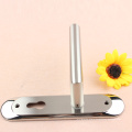 Popular Classical Stainlees Steel Lever Door Handle with Round Plate