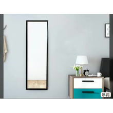 Cheap price plastic frame standing dressing silver mirror