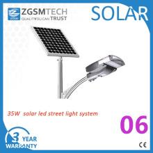 Luz solar posta solar da luz de rua 30W-120W do diodo emissor de luz de 30W watts