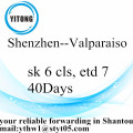 Shenzhen International zeevracht naar Valparaiso