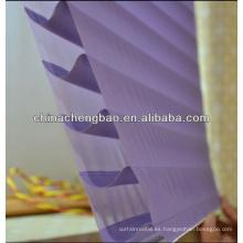 Nuevo modelo de tres capas Shangrila persianas enrollables para ventanas