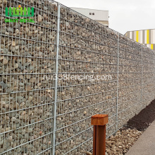 Galvanized+Gabion+Caged+Stone+Walls+For+Sale