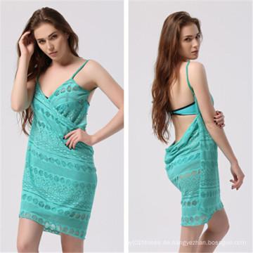Sexy Spitze Bikini Strand Wrap Kleid (53014)