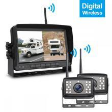 Système de caméra de recul numérique pour véhicule sans fil