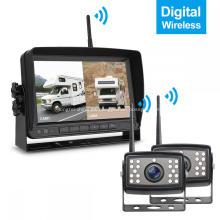 Monitoreo del vehículo Sistema de cámara de estacionamiento reversible Inalámbrico digital
