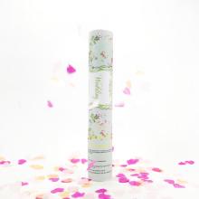 2017 luxo casamento favor atirador confetes com papel coração para celebração