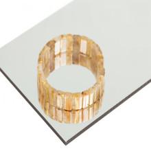 PE PVDF Coating Mirror Aluminum Composite Material