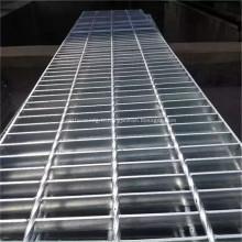 Passerelle de caillebotis à barres d'acier soudées en acier inoxydable