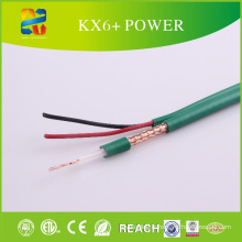 Câble coaxial de puissance de Kx6 + Câble siamois de puissance