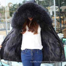 Variety of styles fur lined belted parka jacket for women wholesale