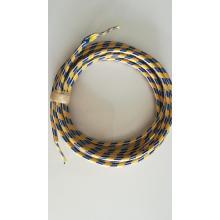 Manga de algodão para gerenciamento de cabos coloridos