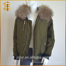 Factory Direct Versorgung Damen Real Fox Genuine Pelz Parka