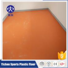 Plancher commercial commercial de PVC de revêtement anti UV de glissement durable de LVT