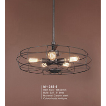 Restoration Iron Chandelier Pendant Lamp (M-138S)
