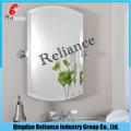 Espelho de 2 mm de espelho / espelho de folha / espelho de prateleira / espelho revestido / espelho de casa de banho / espelho de mobília