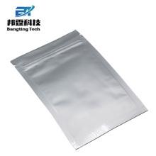 Bolso laminado impreso de encargo del papel de aluminio de la cerradura de la cremallera / laminando la hoja