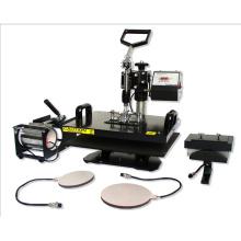 5 en 1 Combo calor transferencia de máquina para T camisas/vasos/bandejas