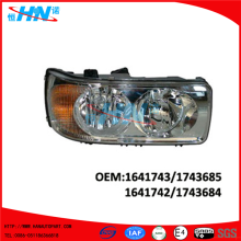 Daf Manual Head Lamp Truck Parts 1641742 1641743