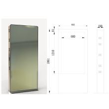 55inch Boden Standing LCD Werbung im freien Kiosk