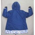 Yj-1064 Blue Waterproof Breathable Mens Winter Softshell Jacket