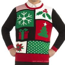 15STC8905 moche pull de Noël tricoté