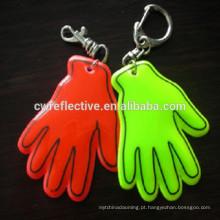 Mini keychain do refletor da palma