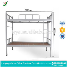 latest steel bed design double metal bunk bed