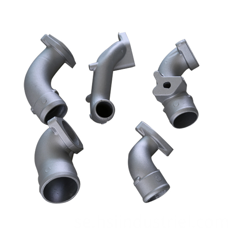 Aluminum Casting Engine Pipe