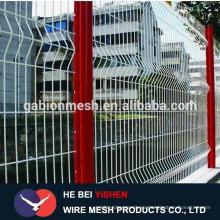 Panel de malla de alambre soldado galvanizado