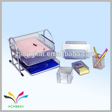 China supplier own factory iron mesh calender pen holder