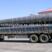 Tubo de aço espiral / Spiral Steel Pipe / API 5L SSAW Tube