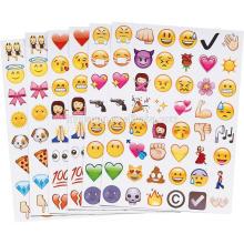 Novo estilo personalizado A4 tamanho cortado adesivos para crianças