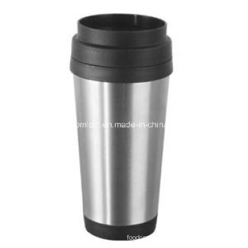 14oz Stainless Steel Coffee Cup with Screw Lid