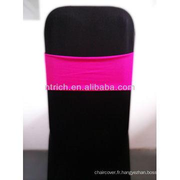 Superbe Spandex Sash, ceinture en Lycra, Fuchsia
