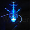 Glass Hookah Pipe with LED Light - Wonder Glass