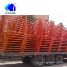 China Engranzamento soldado do equipamento logístico para o recipiente da galinha das gaiolas