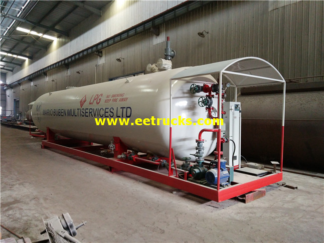 10000 Gallon 20ton Mobile Skid LPG Stations