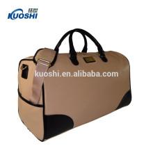 bolsa de bagagem de viagem impermeável pequena para mulher