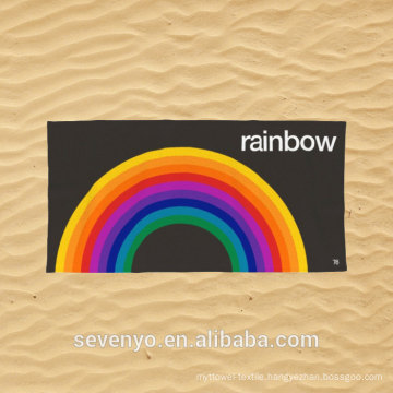 Rainbow Beach Towel BT-487 China Supplier