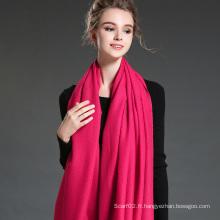 Femmes en hiver pour garder un châle écharpe en polyester rouge mei mûr