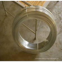 Arame de aço galvanizado plano de alto carbono