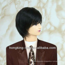 Brazilian Natural Hair Wig For Men Customer Dimension