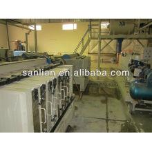 Linha de produção automática de painéis de parede EPS