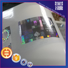 Label Seal Keamanan Hologram Anti-palsu 3D