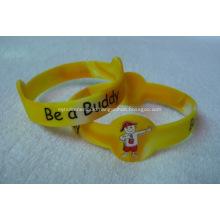 Custom Personalized Figure Silicone Bracelets - Adult Size